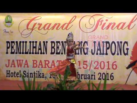 sonia jaipong srikandi final bentang jaipong jabar 2016