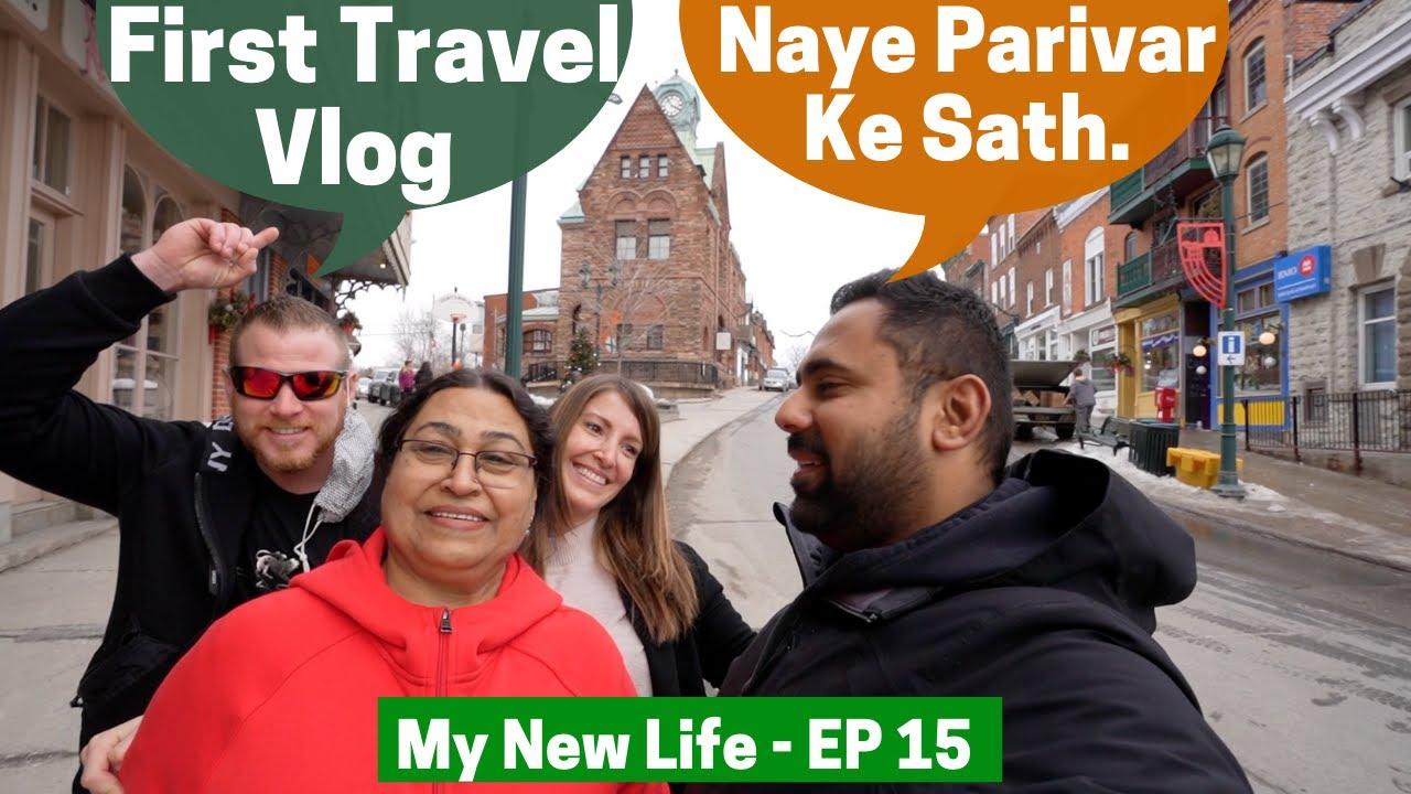 Indian Canadian Family Ka Pehla TRAVEL VLOG EXPERIMENT...
