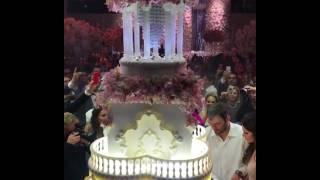 Торт на свадьбе хоккейиста Вашингтон Кэпиталз Овечкина