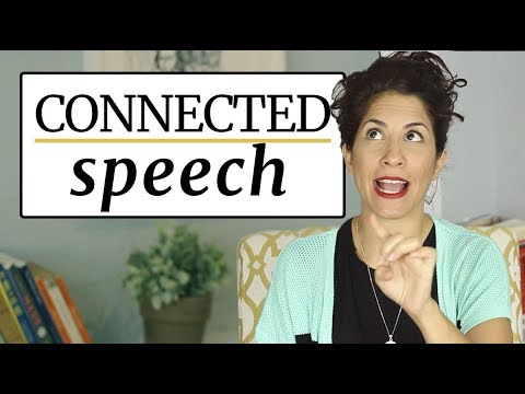 How to connect words in American English? | Tips & Tricks