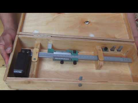 видео: Штангенрейсмас  коробка для него своими руками
