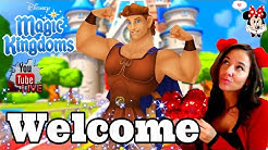 Kitty Kat Livestream! WELCOME HERCULES! Disney Magic Kingdoms Live