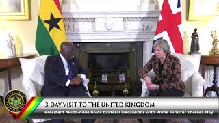 Bilateral Talk with Prime Minister Theresa May