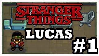 Stranger Things The Game: Encontrando Lucas Walkthrough - Parte 1