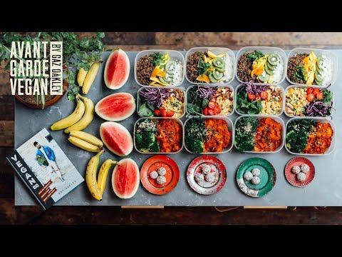 HUGE MEAL PREP!! 16 HEALTHY MEALS! 🔥🌱   @avantgardevegan by Gaz Oakley