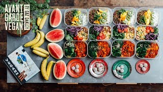 HUGE MEAL PREP!! 16 HEALTHY MEALS! 🔥🌱 | @avantgardevegan by Gaz Oakley