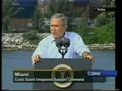 David Letterman Compilation of George Bush