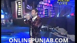 Amrinder Gill Live At PTC Punjabi Awards 2013