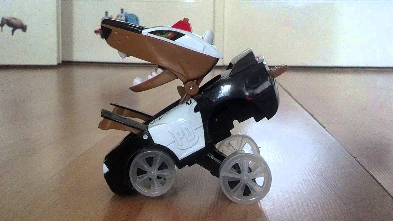 Dog Police Car For Boys Kids Game For Kids Transformer Car