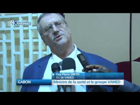 GABON : Ministre de la Santé et le groupe VAMED