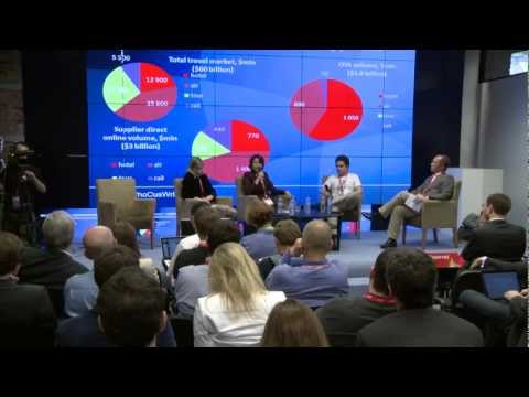 DLD Moscow 2012 - Winning the Travel Market (Serge Faguet, Tetyana Hrekh, Marina Kolesnik)