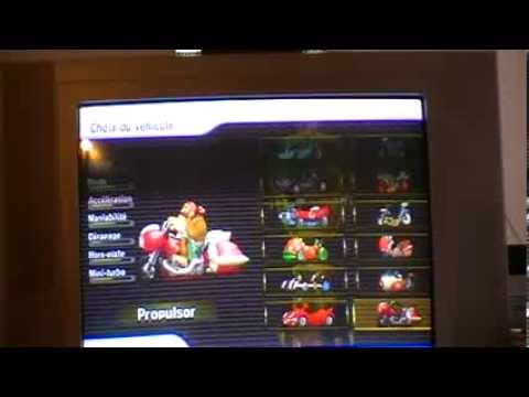 Mario kart wii comment d bloquer tous les v hicules - Tous les personnages mario kart wii ...