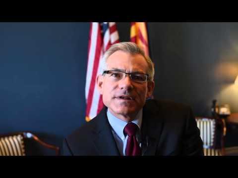 """Congressman Schweikert Video Message for """"Tunisia's Jasmine Revolution"""" Event"""