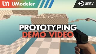 Prototyping Demo with UModeler 2.0 in Unity.