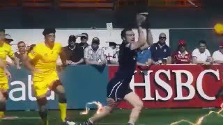 Rugby Live Action with Special Effects & Animation