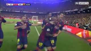 Unbelievable solo goal in copa del rey final 2015 by leo messi! .................................................................................... lionel...