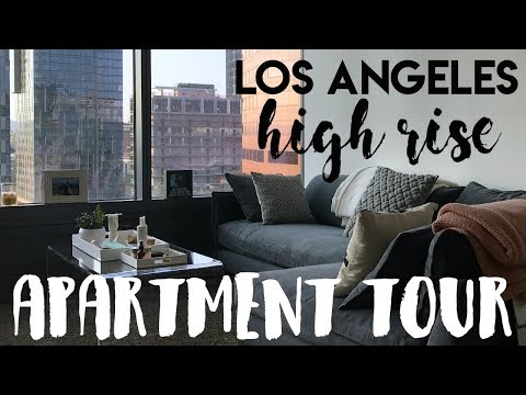 LA High Rise Apartment Tour | 2017