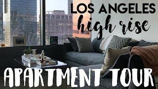 LA High Rise Apartment Tour | 2017