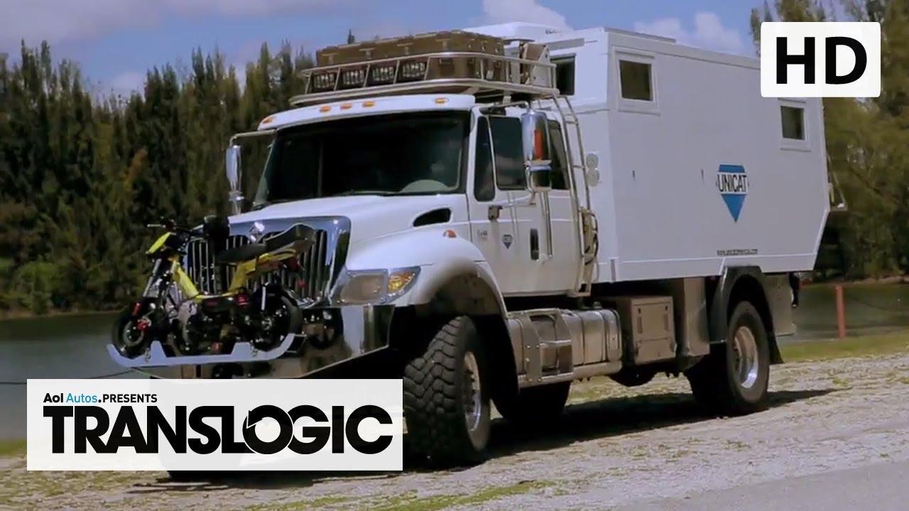 unicat terracross expedition vehicle translogic youtube. Black Bedroom Furniture Sets. Home Design Ideas