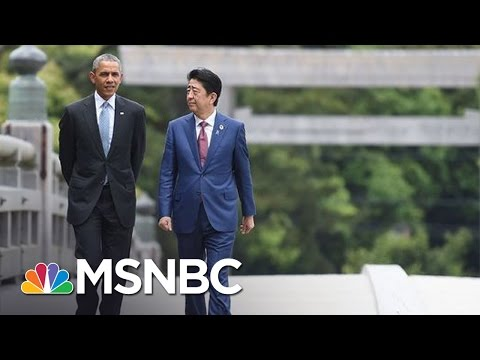 President Obama Welcomes Japanese PM To Pearl Harbor For Historic Visit | Andrea Mitchell | MSNBC