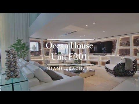 2 Bedroom Loft at Ocean House - 125 Ocean Drive, F201, Miami Beach Luxury Condo