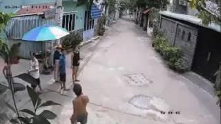Camera ghi lại cảnh bắt trộm chó phú quốc diễn ra nhanh như chớp ở sài gòn