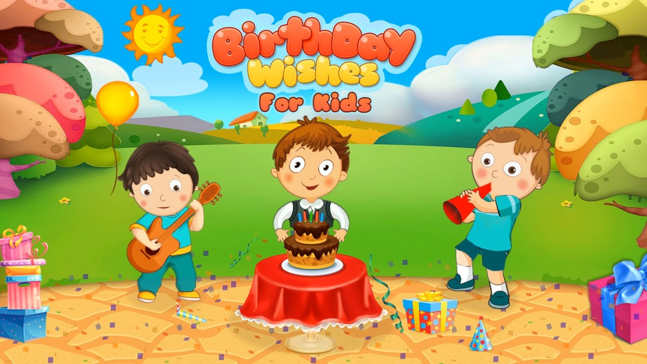 Birthday Wishes For Kids Iosandroid Gameplay Trailer By Gameiva