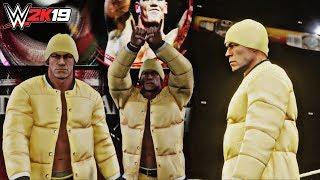 WWE 2K19 NEW Entrance: John Cena Retro 2003! (Night of Champions 2012 Arena Xbox One X)