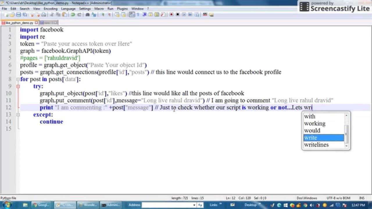 User access token facebook python : Knc coin forum jobs