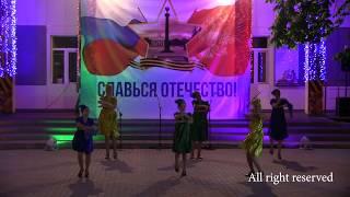 Фрагмент концерта ко Дню победы 9 мая. Белгородский Дом Офицеров - 9.05.2018