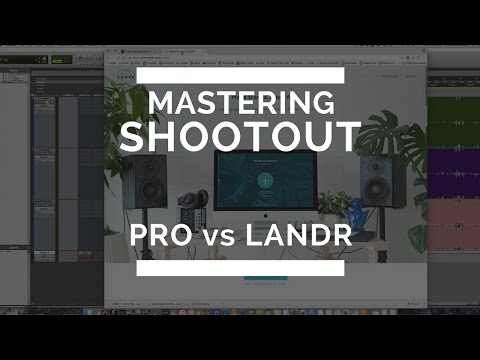 Mastering Shootout:  LANDR vs Pro Master – TheRecordingRevolution.com