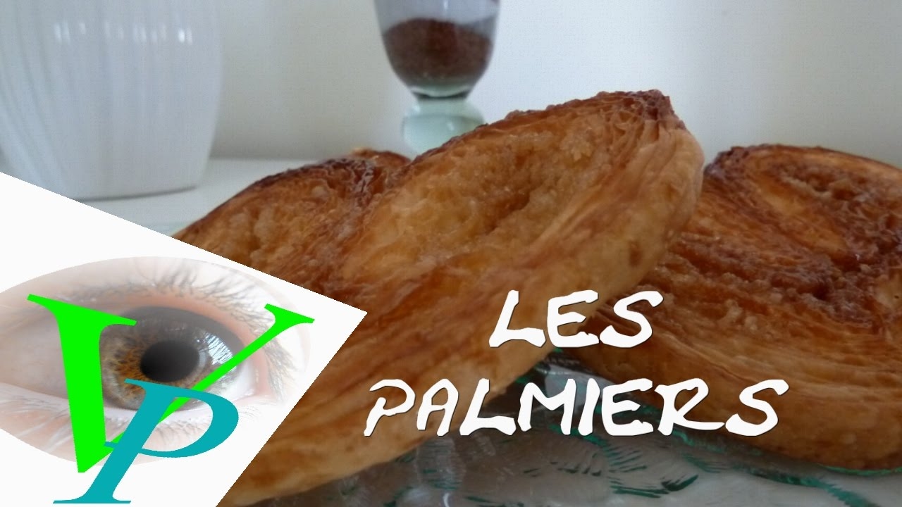 La confection des PALMIERS