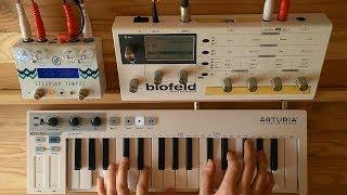 Dawn In Antarctica - Ambient Synth Jam (Blofeld, Specular Tempus, Keystep)
