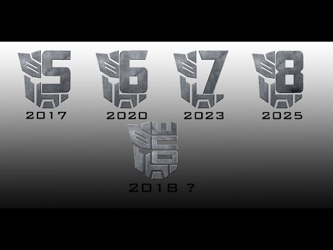 Transformers 5, 6, 7, 8 And One Logos & Dates  TF5