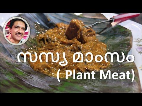 Plant Meat simple vegetarian recipe in Malayalam! Mock meat recipe Kerala Style