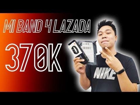 Mở hộp Mi Band 4 Lazada giá 370K anh em bơi hết vào đây
