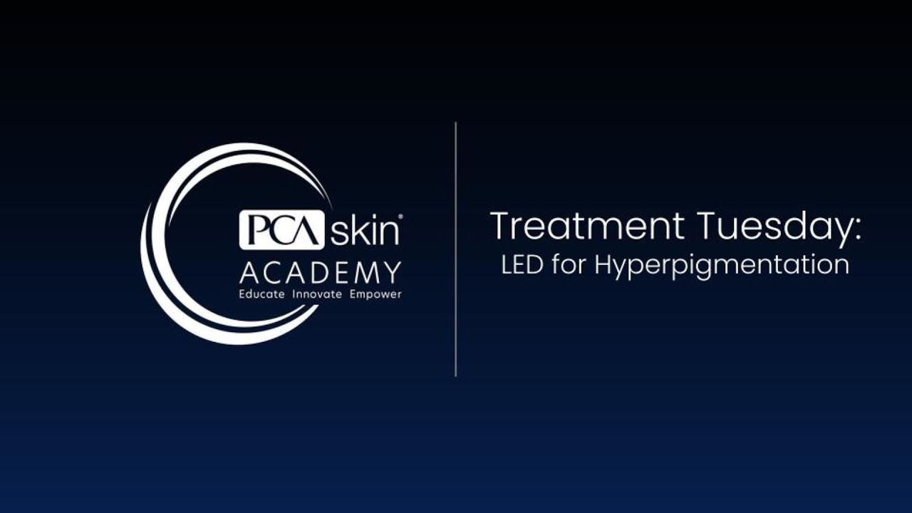 Click to open this video in a pop-up modal: Treatment Tuesday: LED Treatment for Hyperpigmentation