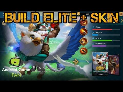 Plínio (Vince) - Build Elite + Skin - Heroes Evolved