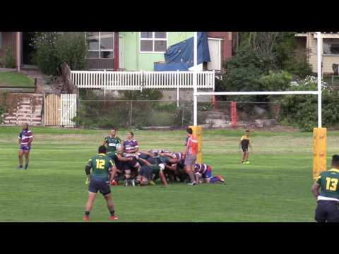 Dewar Shield 2017 RD1 Footscray v Melbourne Unicorns