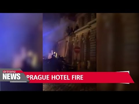 Possible second Korean national dies in Prague hotel fire