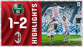 Highlights | Sassuolo 1-2 AC Milan | Matchday 13 Serie A TIM 2020/21