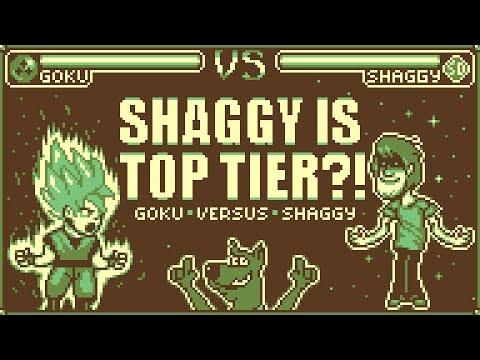 SHAGGY IS TOP TIER?! Goku Versus Shaggy Gameboy'd