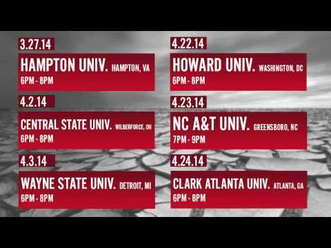 Promo Video: Hip Hop Caucus Act On Climate Campus Tour 2014
