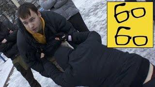 Зимняя самооборона с Бадюк Тим или Нападение на нападающего — урок уличной самозащиты
