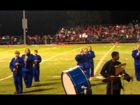 gosnell high school band 2011 first performance