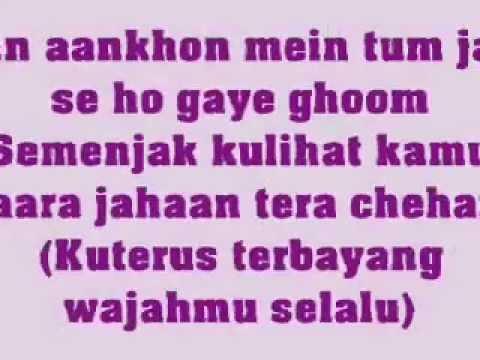 In Aankhon Mein Tum - Jodha Akbar - KARAOKE - With lyrics & Translate Indonesia