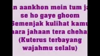 In Aankhon Mein Tum - Jodha Akbar - KARAOKE - With lyrics & Translate Indonesia