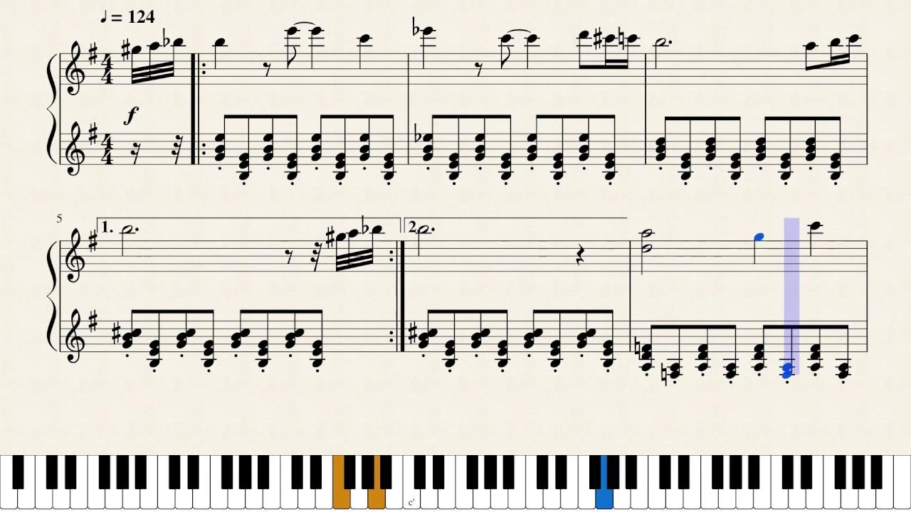 Black City Pokemon Black Black 2 Piano Sheet Music Youtube Différents niveaux de difficulté (du débutant à l'expert). black city pokemon black black 2 piano sheet music