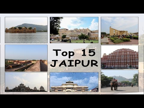 Top 15 Tourist Attractions must SEE in Pink City JAIPUR