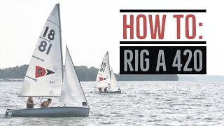 UGA Sailing: How to Rig a 420